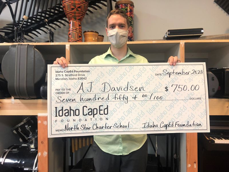AJ Davidsen - Idaho CapEd Foundation Teacher Grant Winner