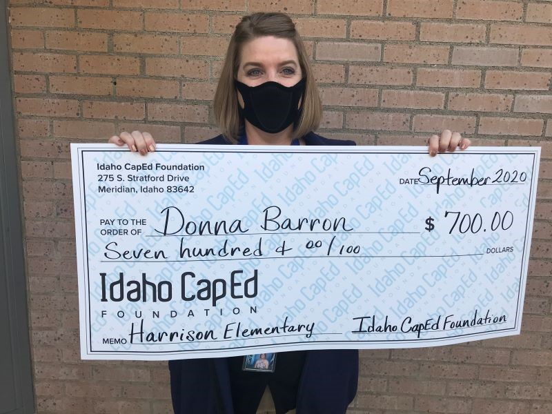 Donna Barron - Idaho CapEd Foundation Teacher Grant Winner