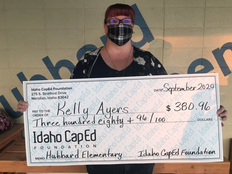 Kelly Ayers - Idaho CapEd Foundation Teacher Grant Winner