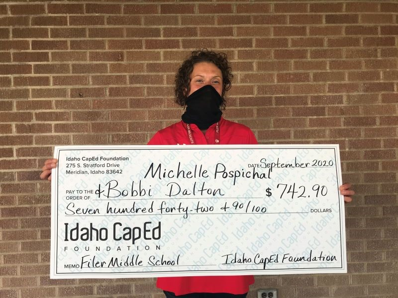 Michelle Pospichal - Idaho CapEd Foundation Teacher Grant Winner