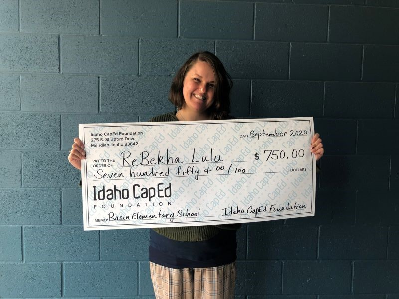 ReBekha Lulu - Idaho CapEd Foundation Teacher Grant Winner