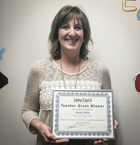 Becky Albin - Idaho CapEd Foundation Teacher Grant Winner