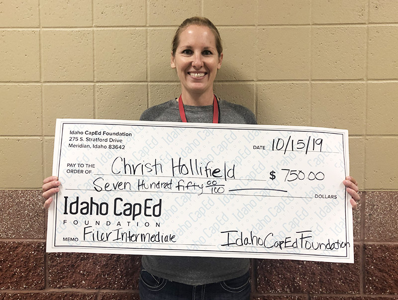Christi Hollifield - Idaho CapEd Foundation Teacher Grant Winner