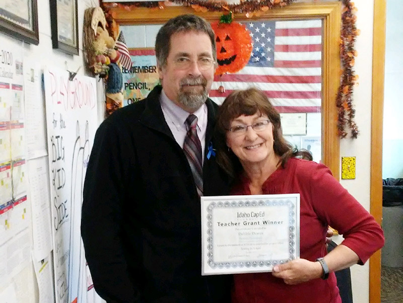 Debbie Dawes - Idaho CapEd Foundation Teacher Grant Winner