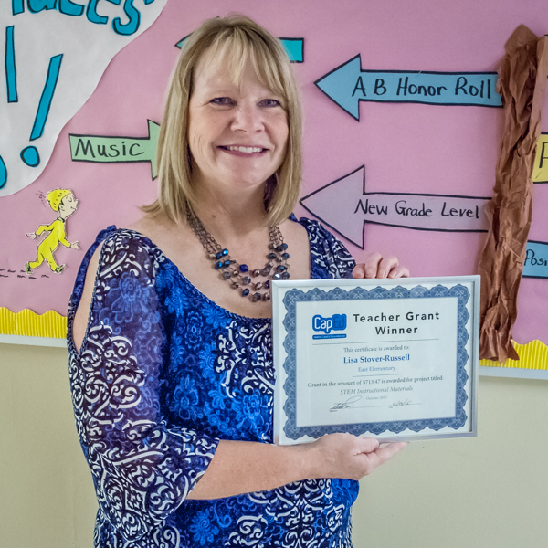 Lisa Stover-Russell - Idaho CapEd Foundation Teacher Grant Winner