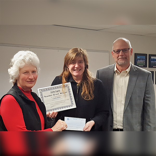 Luella Stelck - Idaho CapEd Foundation Teacher Grant Winner