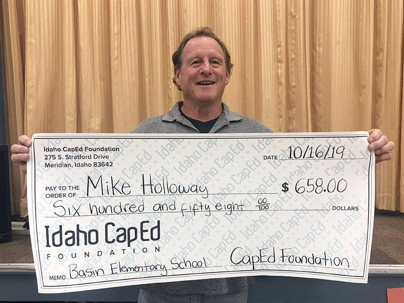 Mike Holloway - Idaho CapEd Foundation Teacher Grant Winner