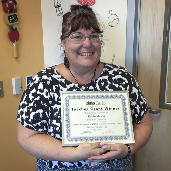 Robin Mason - Idaho CapEd Foundation Teacher Grant Winner